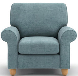 Abingdon upholstered chair from Laura Ashley