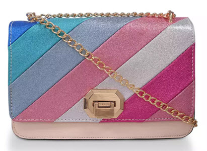 Aldo rainbow bag from Debenhams
