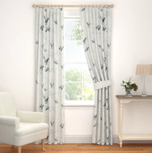 Animalia Silver Curtains from Laura Ashley