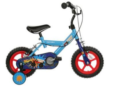 Apollo Monster Truck Kids Bike from Halfords