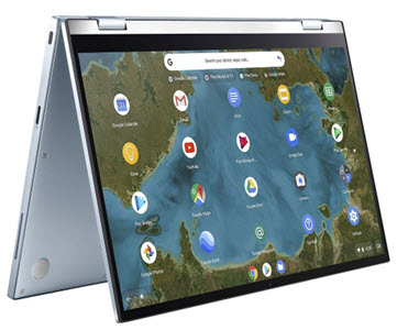 Asus flip laptop from Currys
