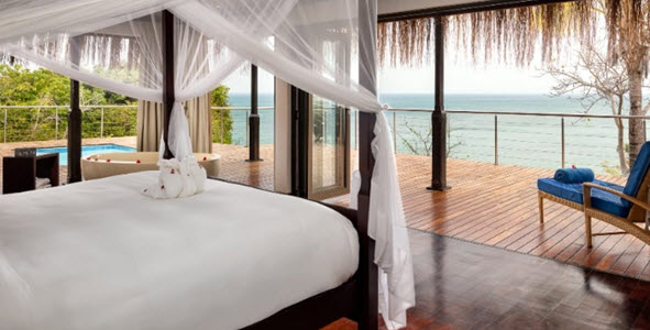 Suite in Bazaruto Island Resort Anantara