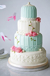 Birdcage Wedding Cake from M&S