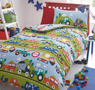 bluezoo transport bedding from Debenhams