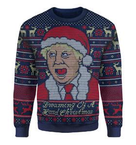 Boris Johnson Christmas Jumper