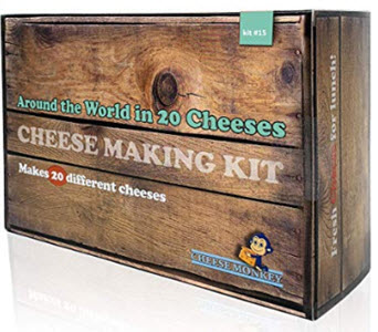 Cheese Making Kit - Around the World in 20 Cheeses