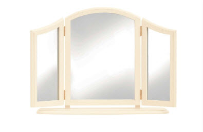Clifton ivory triple mirror from Laura Ashley
