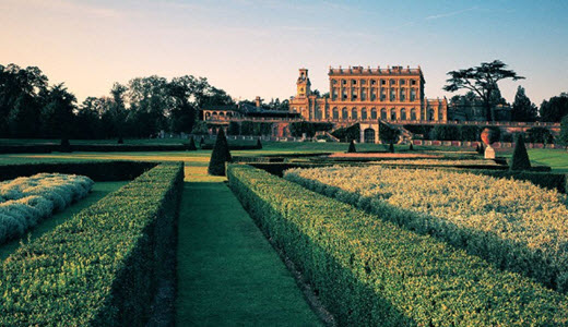 View of Cliveden House in Buckinghamshire