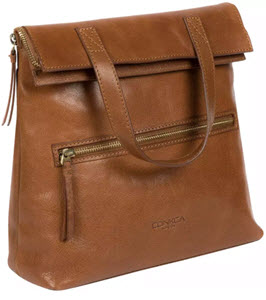 Conka London Anoushka Leather Backpack