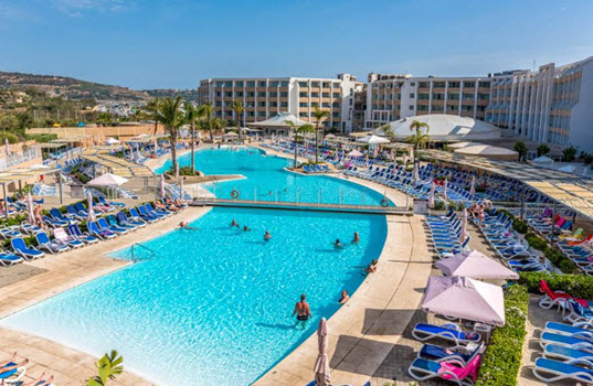 DB Seabank Resort & Spa, Mellieha Bay, Malta and Gozo