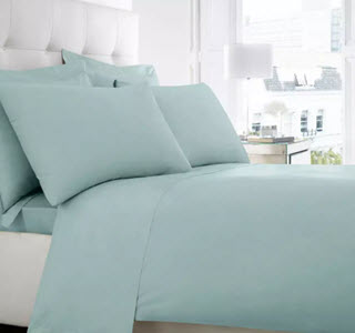 Debenhams Aqua Egyptian Cotton Bedding