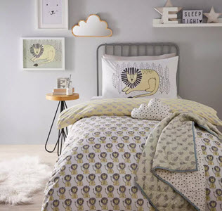 Debenhams Scandi Lion Duvet Set