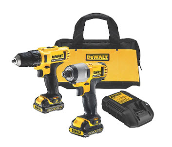 DeWalt drill and impact driver from B&Q