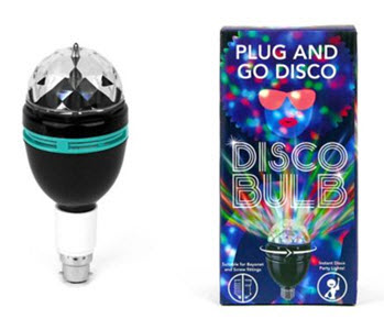 Plug and Go Disco Bulb