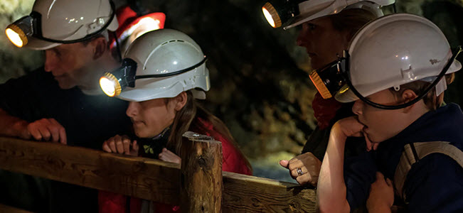 Tours at Dolaucothi Gold Mines