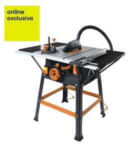Evolution table saw from B&Q