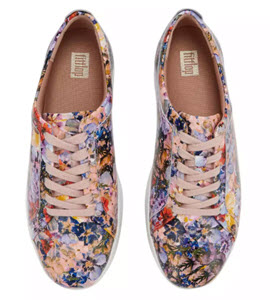 FitFlop Flower Crush Trainers