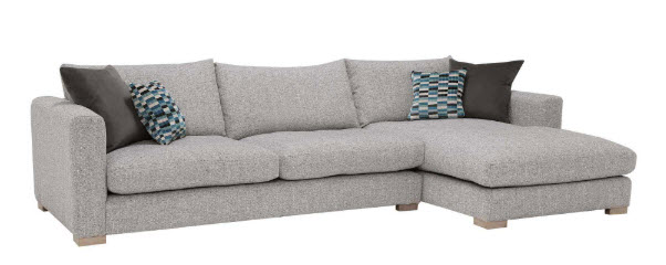 Fontella, Small Right Hand Facing Chaise from Barker and Stonehouse