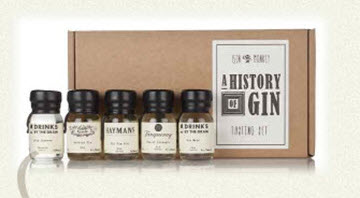 Gin Monkey A History Of Gin Tasting Set
