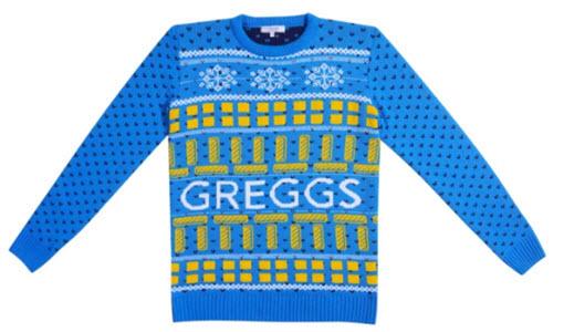 Festive Bake: Greggs Christmas Jumper
