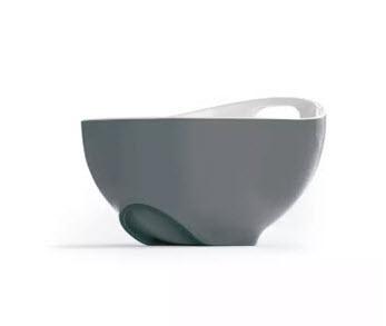 Grey Tilted Mixing Bowl From Joseph Joseph