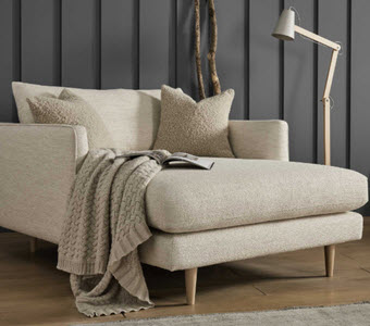 Levico Snuggler Chaise from Barker and Stonehouse