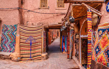 Colourful Marketplace in Marrakesh
