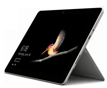 Microsoft 10 Surface Go laptop from Currys