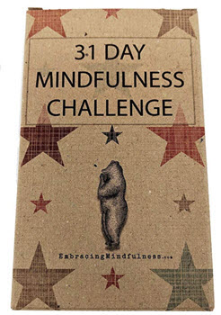 31 Day Mindfulness Challenge Cards from Amazon