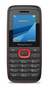 Mobiwire Ayasha Phone on Vodafone
