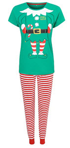 Mummy Elf Pyjamas from George at Asda