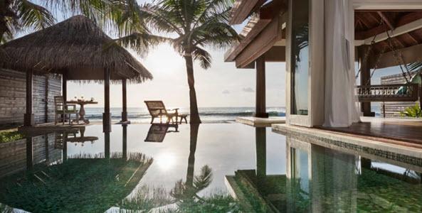 Villa at Naladhu Private Island Maldives