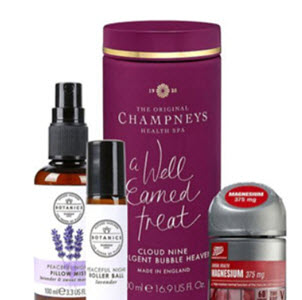 Rest and Relaxation wellness bundle from Boots