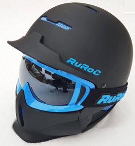 Black Ruroc Helmet