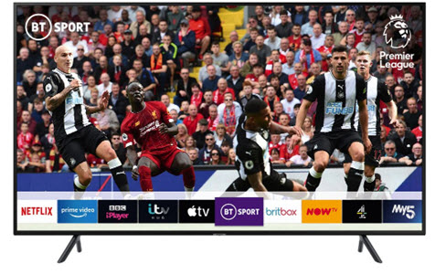 Samsung 75 inch Smart 4K Ultra TV from Currys