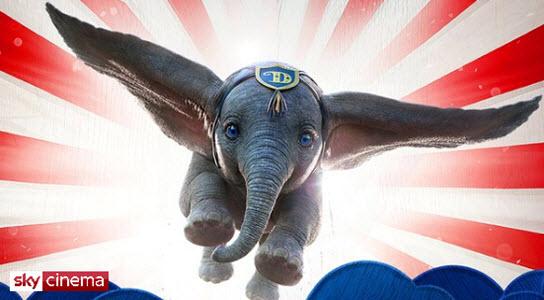 Sky Cinema Dumbo Banner