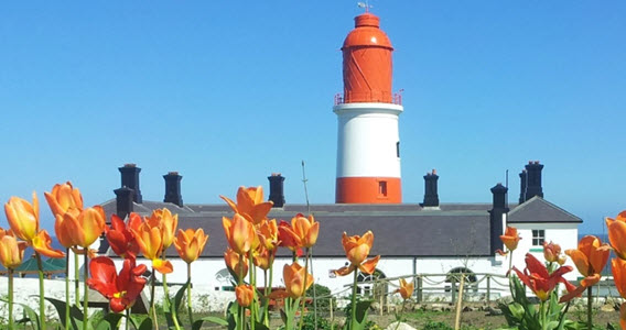 View of Souter Lighthouse and The Leas
