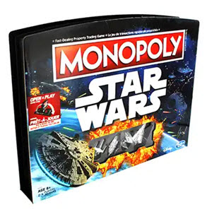 Star Wars Monopoly Game from The Works