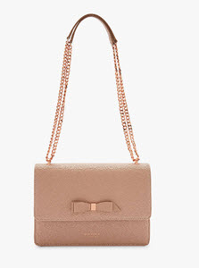 Joanaa Bow Leather Cross Body Bag from Ted Baker