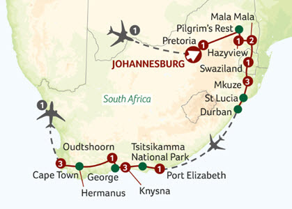 Titan Travel The Best of South Africa