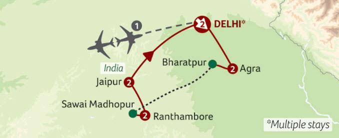 Titan Travel India's Golden Triangle