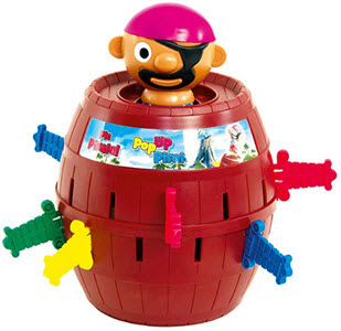 Tomy Pop Up Pirate Game
