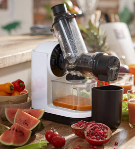 Philips Viva Collection Cold Press Juicer from John Lewis